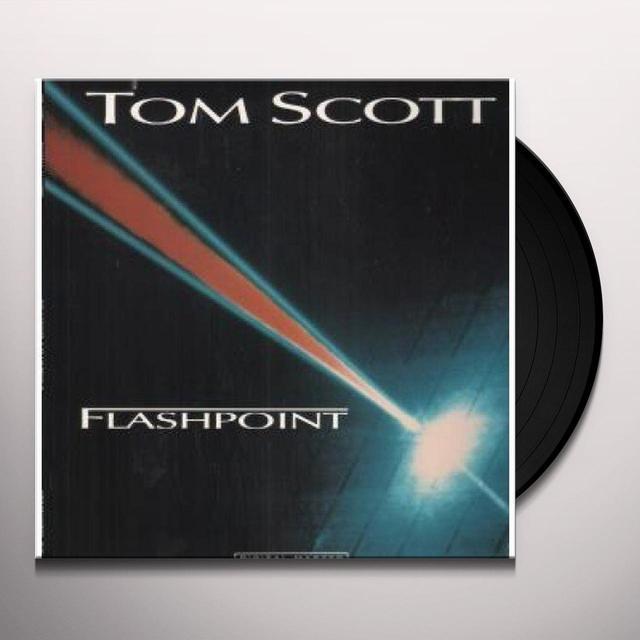 Tom Scott FLASHPOINT Vinyl Record
