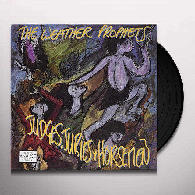 WEATHER PROPHETS JUDGES JURIES & HORSEMEN Vinyl Record