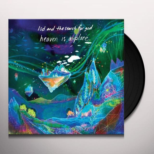 Lsd & The Search For God HEAVEN IS A PLACE (EP) Vinyl Record