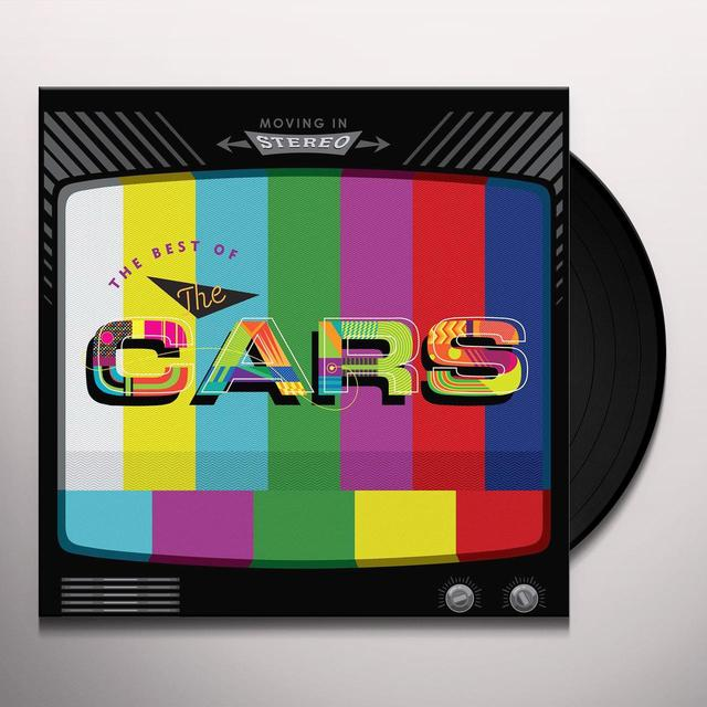 MOVING IN STEREO: THE BEST OF THE CARS Vinyl Record - 180 Gram Pressing