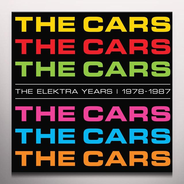 The Cars ELEKTRA YEARS 1978-1987 Vinyl Record