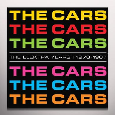 The Cars ELEKTRA YEARS 1978-1987   (BOX) Vinyl Record - Colored Vinyl, 180 Gram Pressing