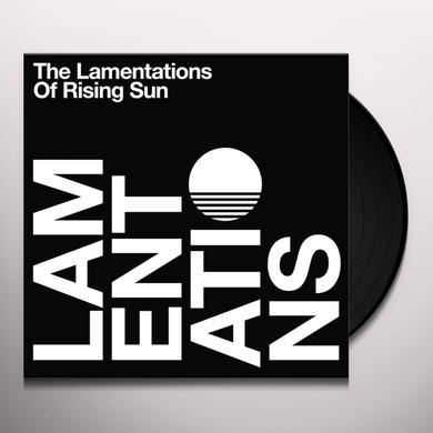 LAMENTATIONS OF RISING SUN Vinyl Record