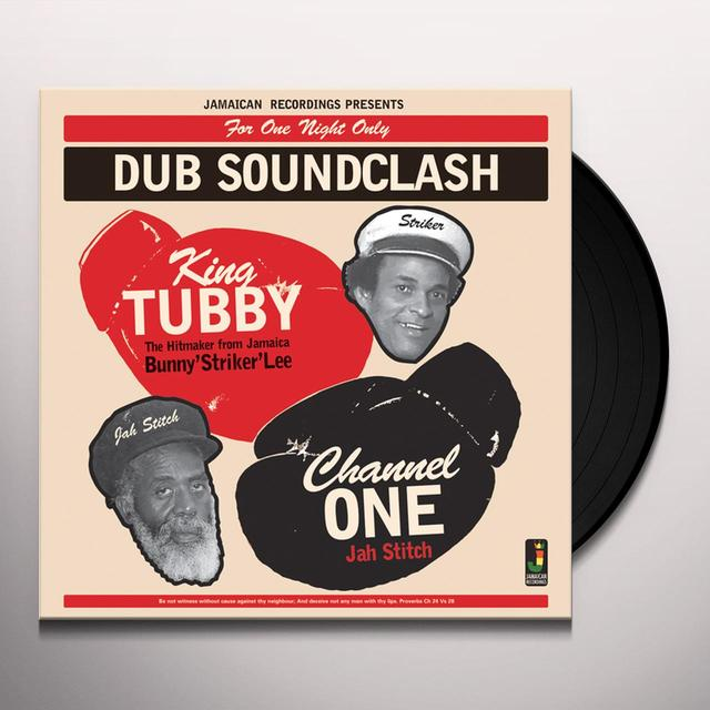 KING TUBBY VS CHANNEL ONE DUB SOUNDCLASH Vinyl Record