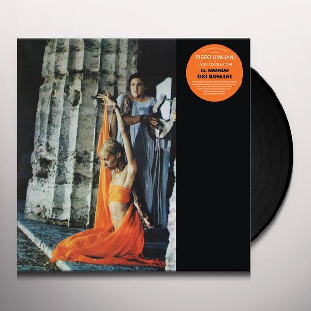 Umiliani & Piero I Suoi Oscillatori IL MONDO DEI ROMANI - O.S.T. Vinyl Record