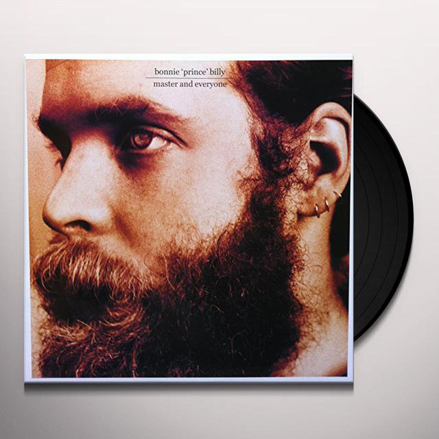 "Bonnie ""Prince"" Billy on Spotify MASTER AND EVERYONE Vinyl Record"