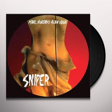 Marc Hurtado / Alan Vega SNIPER Vinyl Record