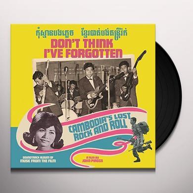 DON'T THINK I'VE FORGOTTEN: CAMBODIA'S / VARIOUS Vinyl Record