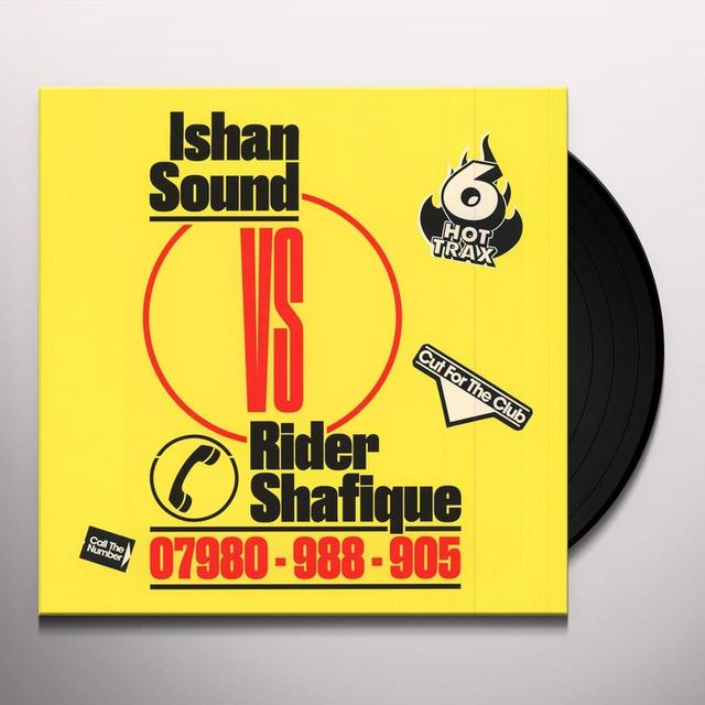 ISHAN SOUND VS RIDER SHAFIQUE Vinyl Record