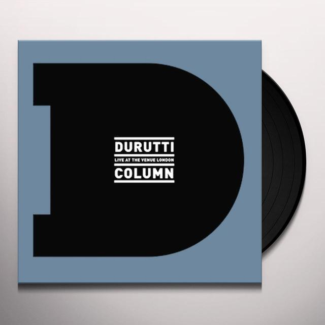 The Durutti Column LIVE AT THE VENUE LONDON Vinyl Record - w/CD