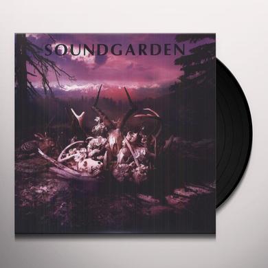 Soundgarden KING ANIMAL DEMOS Vinyl Record - 10 Inch Single, Italy Release