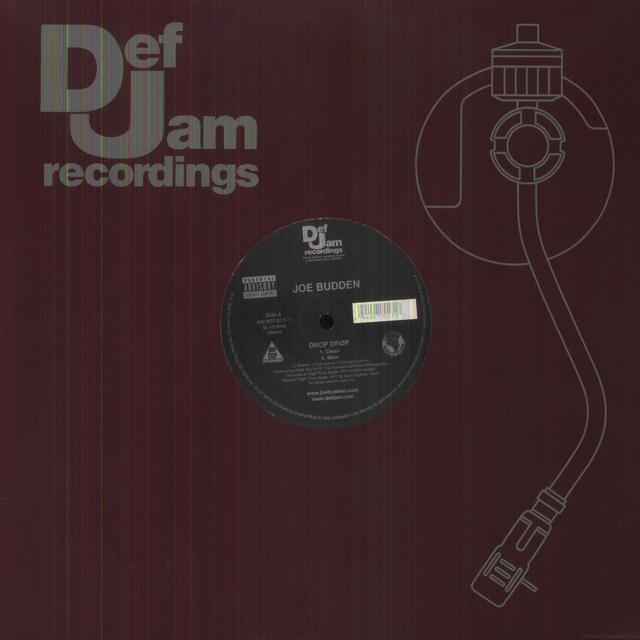 Joe Budden DROP DROP (X4) Vinyl Record
