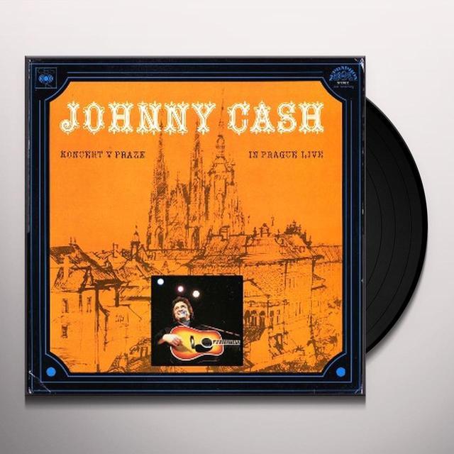Johnny Cash KONCERT V PRAZE (IN PRAGUE-LIVE) Vinyl Record