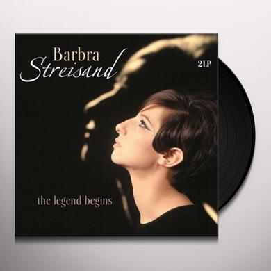 Barbra Streisand LEGEND BEGINS Vinyl Record