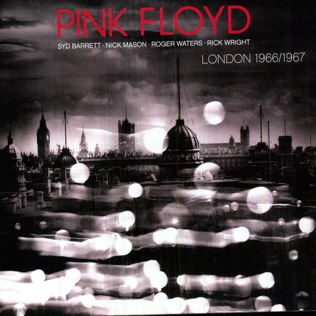 Pink Floyd LONDON 66/67 Vinyl Record - Limited Edition, 180 Gram Pressing, UK Release