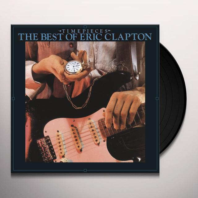 Eric Clapton TIME PIECES: THE BEST OF CLAPTON Vinyl Record - UK Import