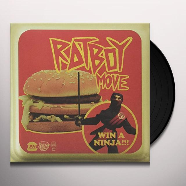 RAT BOY MOVE Vinyl Record - UK Import