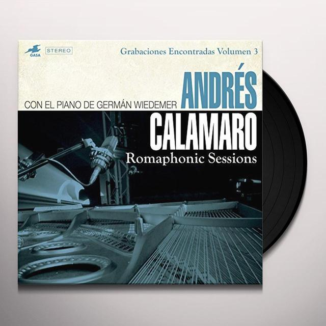 Andres Calamaro ROMAPHONIC SESSIONS Vinyl Record