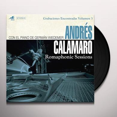 Andres Calamaro ROMAPHONIC SESSIONS Vinyl Record - w/CD, Spain Import