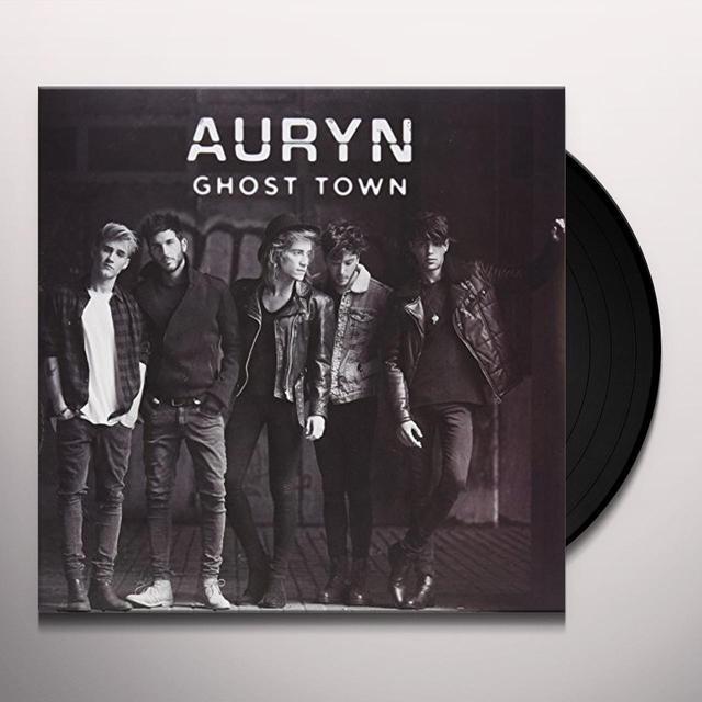 Auryn GHOST TOWN Vinyl Record - w/CD, Spain Import
