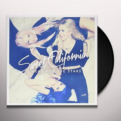 Sweet California HEAD FOR THE STARS Vinyl Record - w/CD, Spain Import