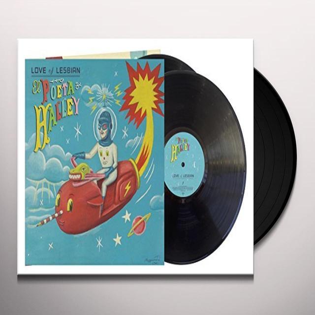 Love of Lesbian EL POETA HALLEY Vinyl Record