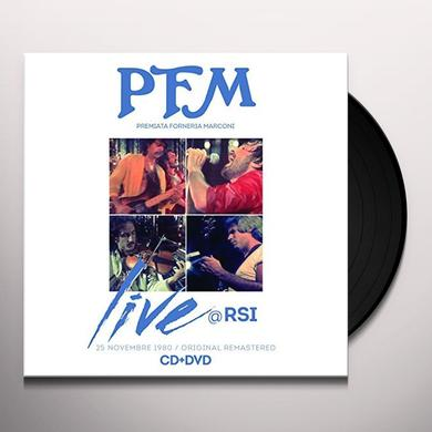 Pfm LIVE AT RSI Vinyl Record - Italy Import