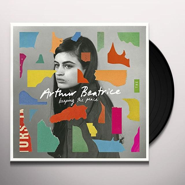 Beatrice Arthur KEEPING THE PEACE Vinyl Record - UK Release