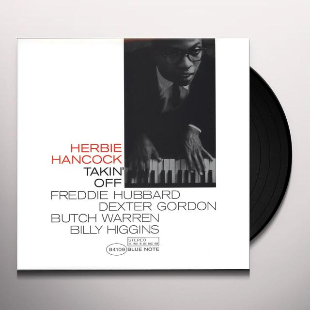 Herbie Hancock TAKIN OFF Vinyl Record - UK Import