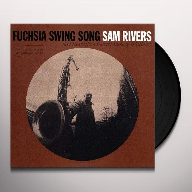 Sam Rivers FUCHSIA SWING SONG Vinyl Record - UK Import