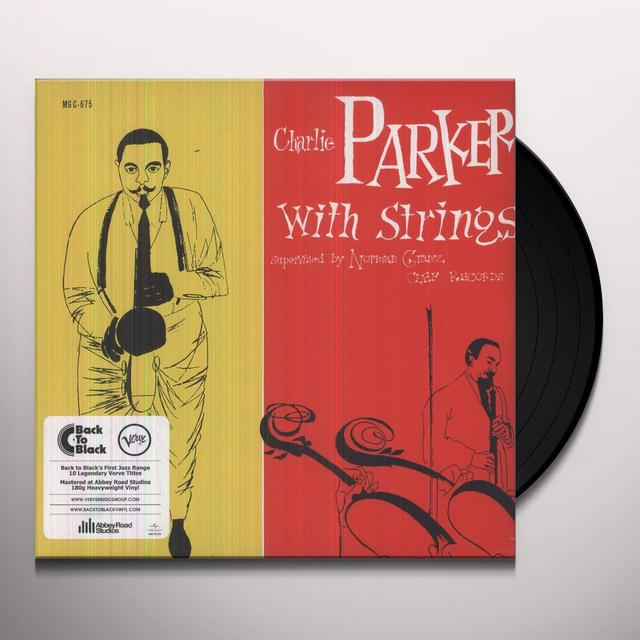 CHARLIE PARKER WITH STRINGS Vinyl Record - Italy Import