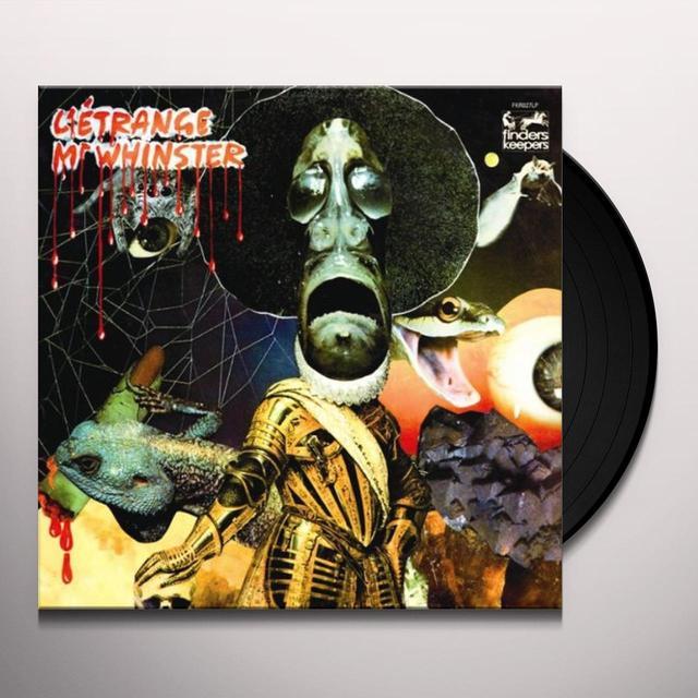 HORRIFIC CHILD L'ETRANGE MR. WHINSTER Vinyl Record - UK Import
