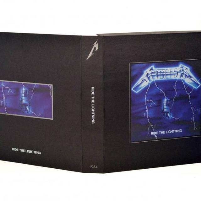 Metallica RIDE THE LIGHTNING Vinyl Record