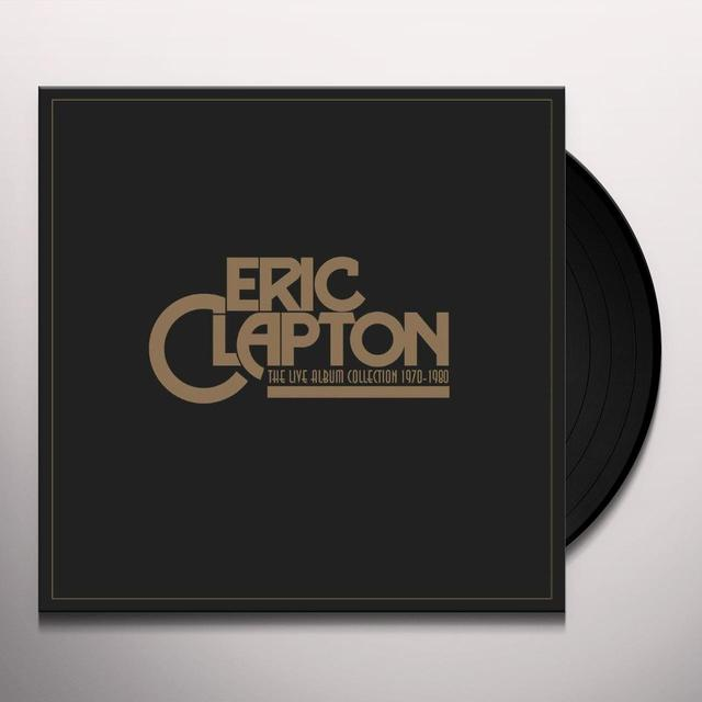 Eric Clapton LIVE ALBUM COLLECTION Vinyl Record