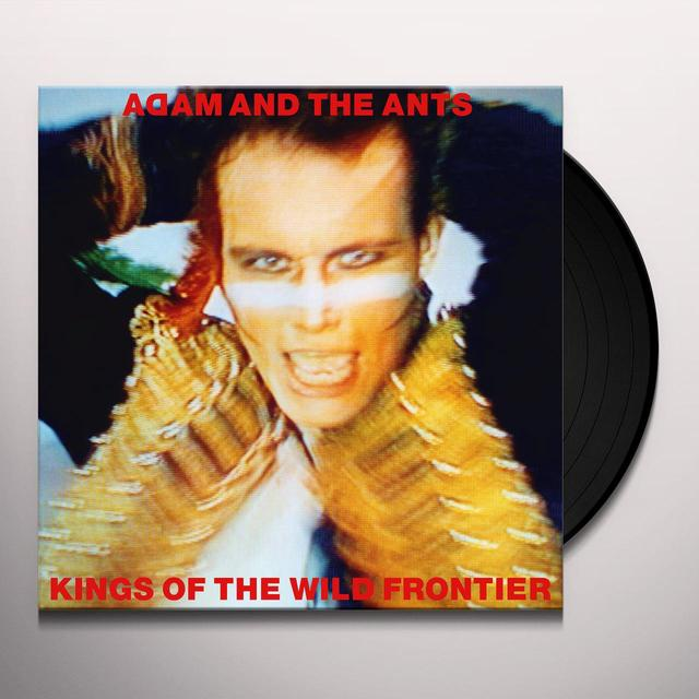 ADAM & ANTS KINGS OF THE WILD FRONTIER Vinyl Record - Gatefold Sleeve, 180 Gram Pressing, Deluxe Edition