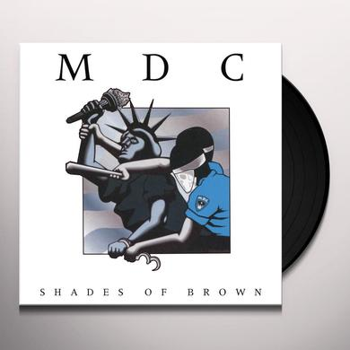 Mdc SHADES OF BROWN Vinyl Record