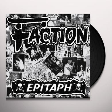 Faction EPITAPH Vinyl Record