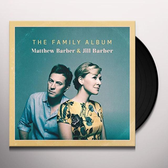 Matthew Barber / Jill Barber FAMILY ALBUM Vinyl Record