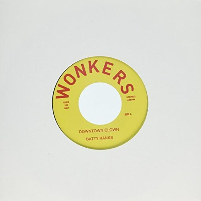Batty Vs Everly Brothers Ranks DOWNTOWN CLOWN Vinyl Record