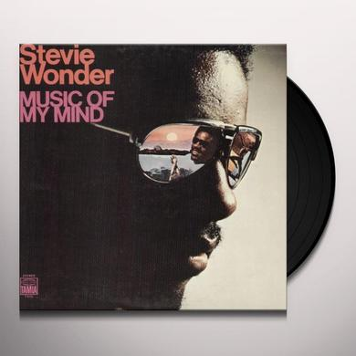 Stevie Wonder MUSIC OF MY MIND Vinyl Record - UK Import
