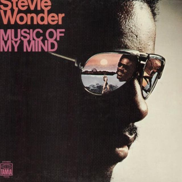 Stevie Wonder MUSIC OF MY MIND Vinyl Record - UK Release