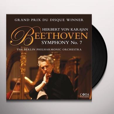 Beethoven / Herbert Von Karajan / Berlin Po BEETHOVEN SYMPHONY 7 Vinyl Record - UK Import