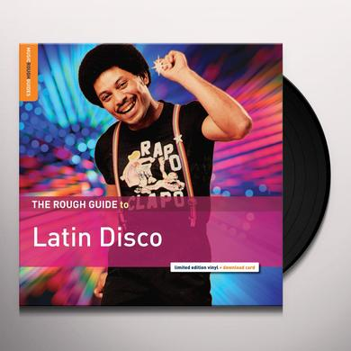 ROUGH GUIDE TO LATIN DISCO / VARIOUS Vinyl Record - Digital Download Included