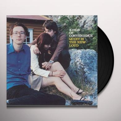 Kings Of Convenience QUIET IS THE NEW LOUD Vinyl Record - Gatefold Sleeve