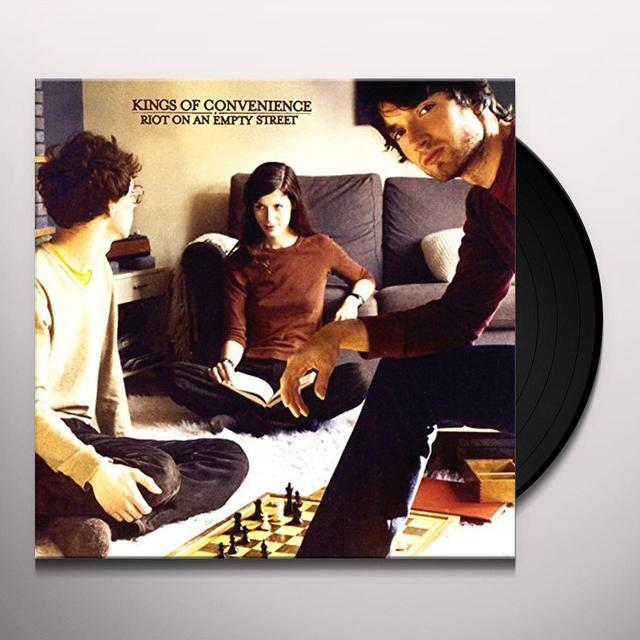 Kings Of Convenience RIOT ON AN EMPTY STREET Vinyl Record - Gatefold Sleeve