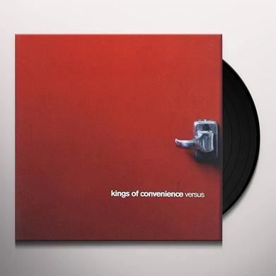 Kings Of Convenience VERSUS Vinyl Record - Gatefold Sleeve