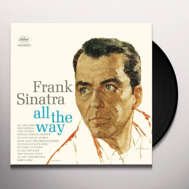 Frank Sinatra ALL THE WAY Vinyl Record