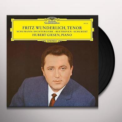 WUNDERLICH / GIESEN SCHUMANN: DICHTERLIEBE BEETHOVEN / SCHUBERT: LIEDE Vinyl Record