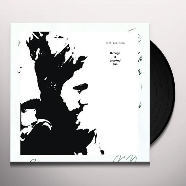 Rich Robinson THROUGH A CROOKED SUN Vinyl Record - Gatefold Sleeve