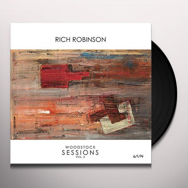 Rich Robinson WOODSTOCK SESSIONS Vinyl Record - Gatefold Sleeve